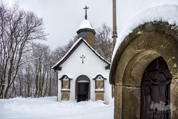 Kreuzbergkapelle Winterberg - Winter 1