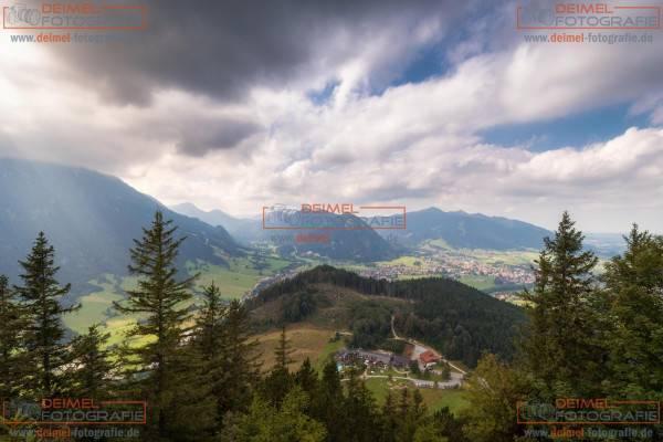 Burg Falkenstein - Blick auf Pfronten