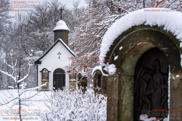 Kreuzbergkapelle Winterberg - Winter 2