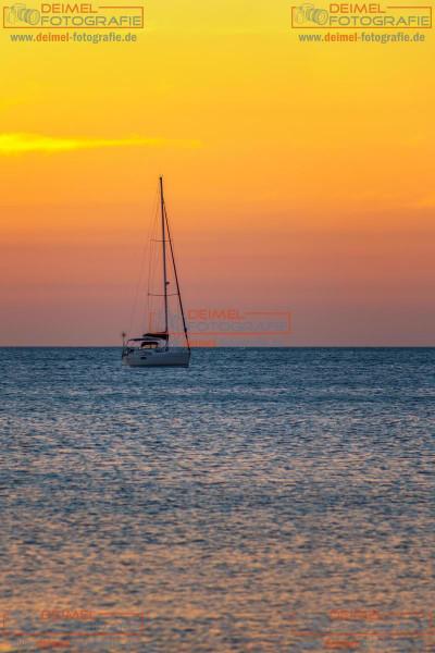 Boot vor Koh Lanta