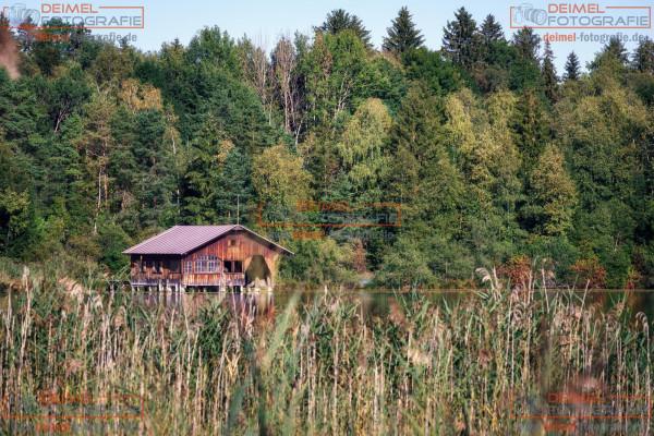 Bootshaus im Allgäu