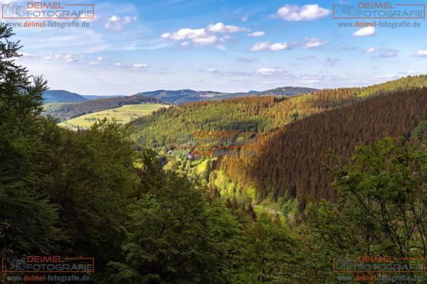 Ausblick Hollenfelsen