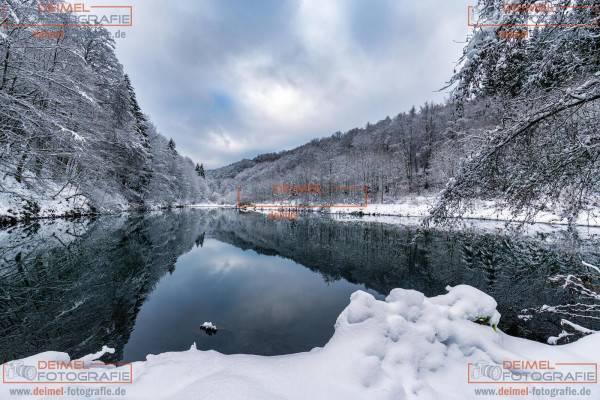 Schluchten- und Brückenpfad - Winter 3