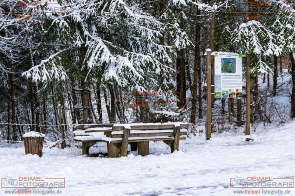Schluchten- und Brückenpfad - Winter 2