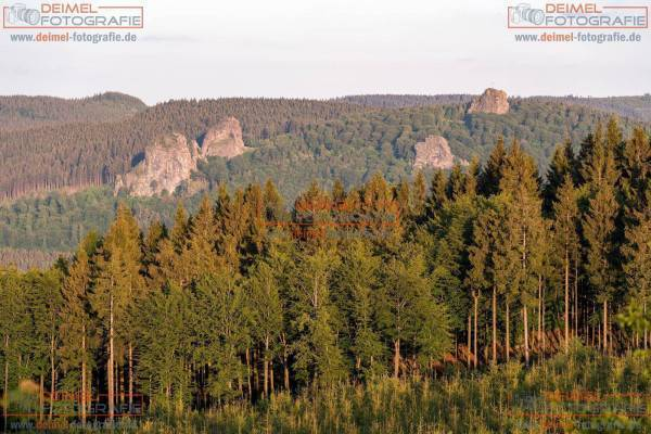 Bruchhauser Steine - Sommer 1