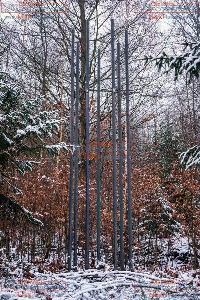 Über den Teichen - Waldskulpturenweg 1