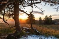 Sonnenuntergang Kahler Asten