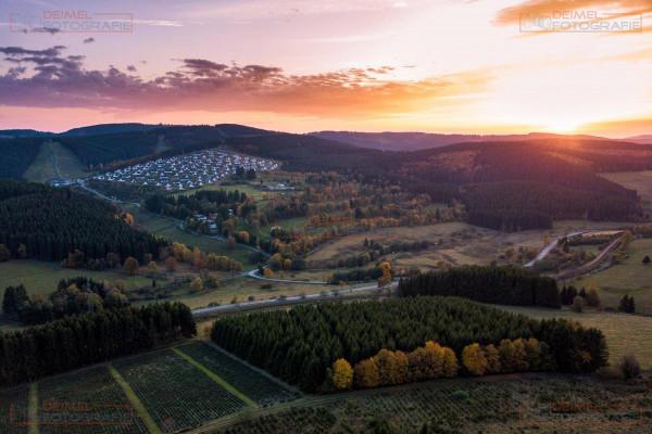 Luftaufnahme Ferienpark Winterberg